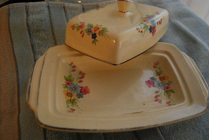 Moms butter dish