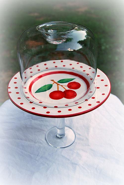 Cherries Cupcake Stand
