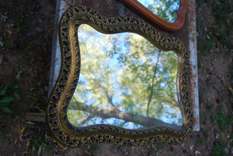 Ugly yardsale mirror