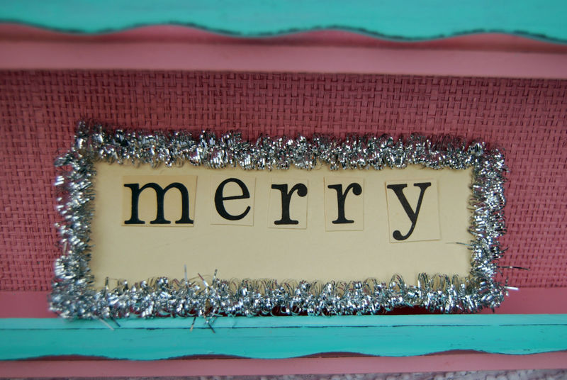 Ebay merry sign