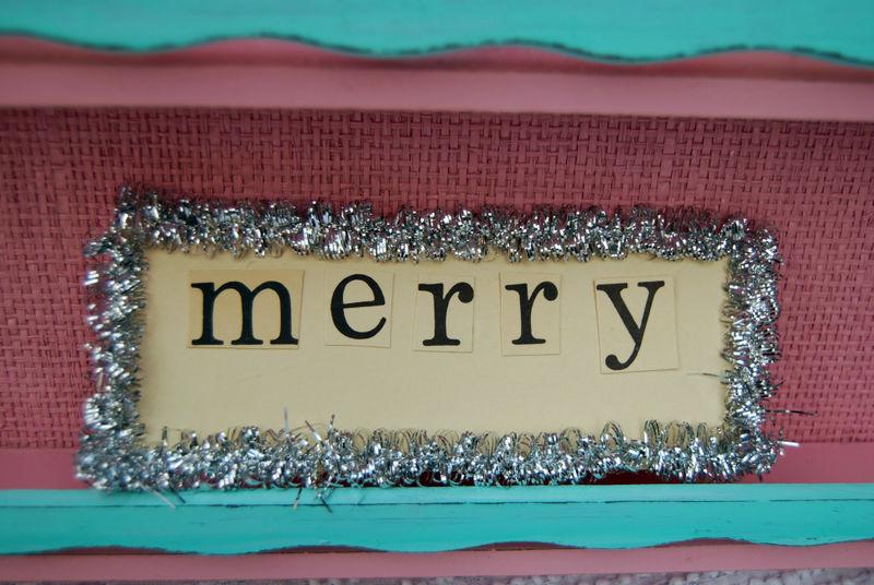 Ebay merry sign