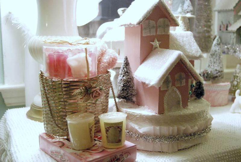 Pink christmas swap