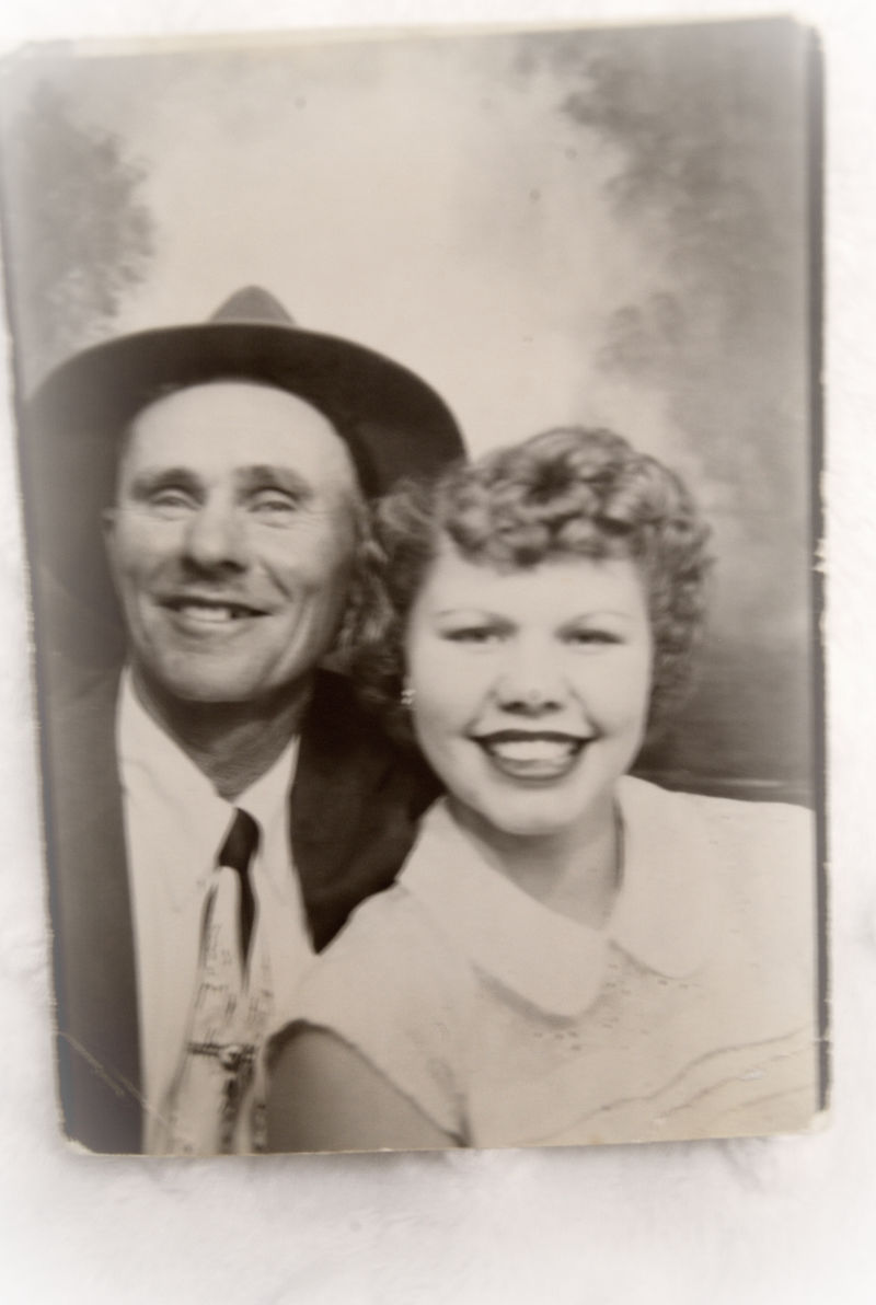 Mom and Grandpa